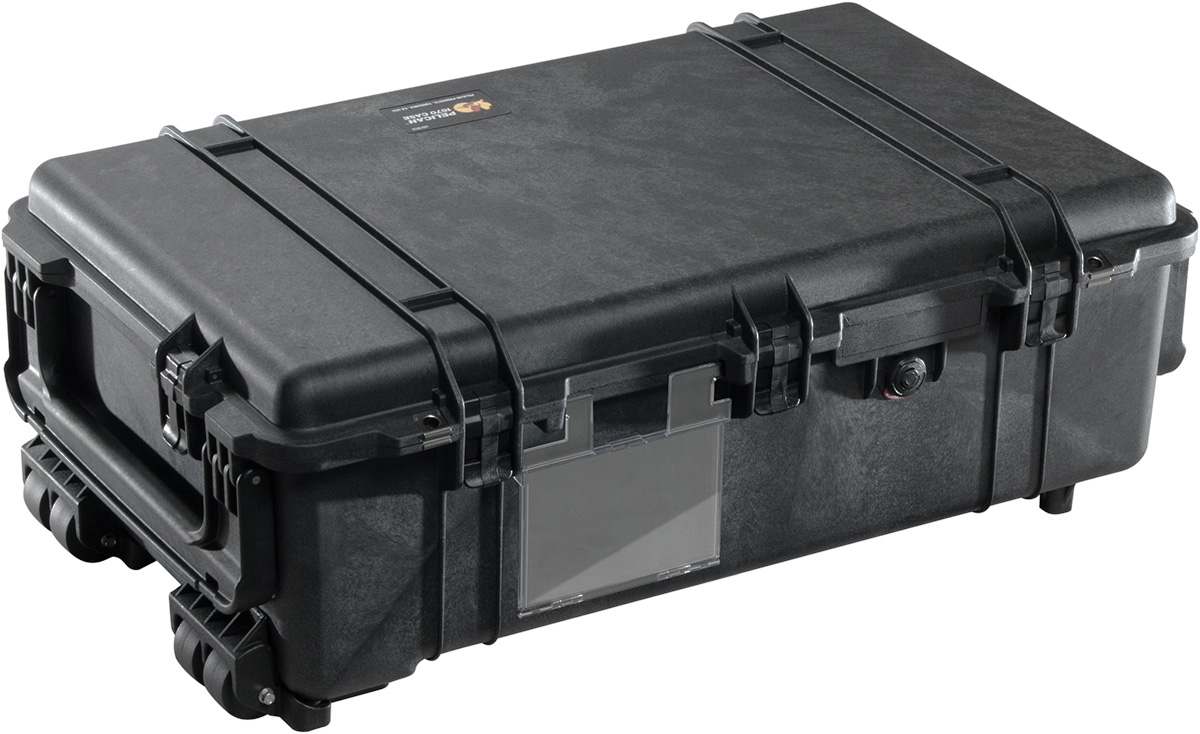 pelican 1670 weapons big hard rolling case