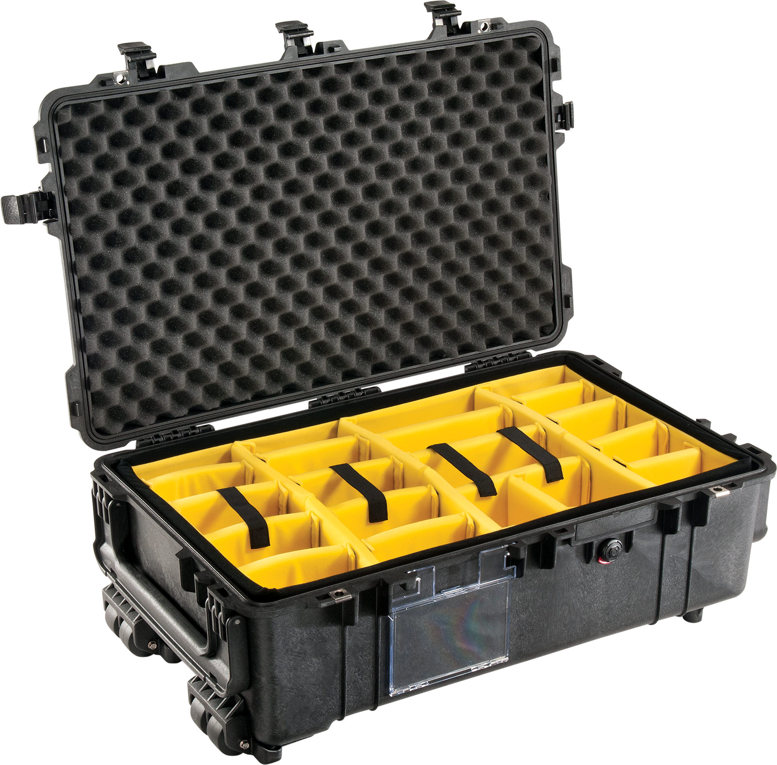 pelican 1670 1674 case with padded dividers