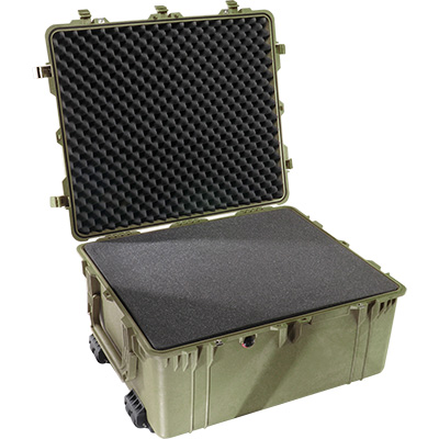 pelican 1690 green foam protector case