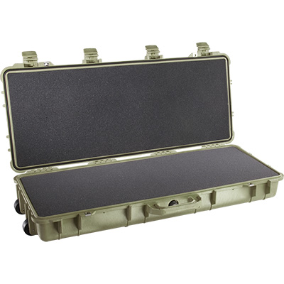 pelican 1700 green storm gun foam case