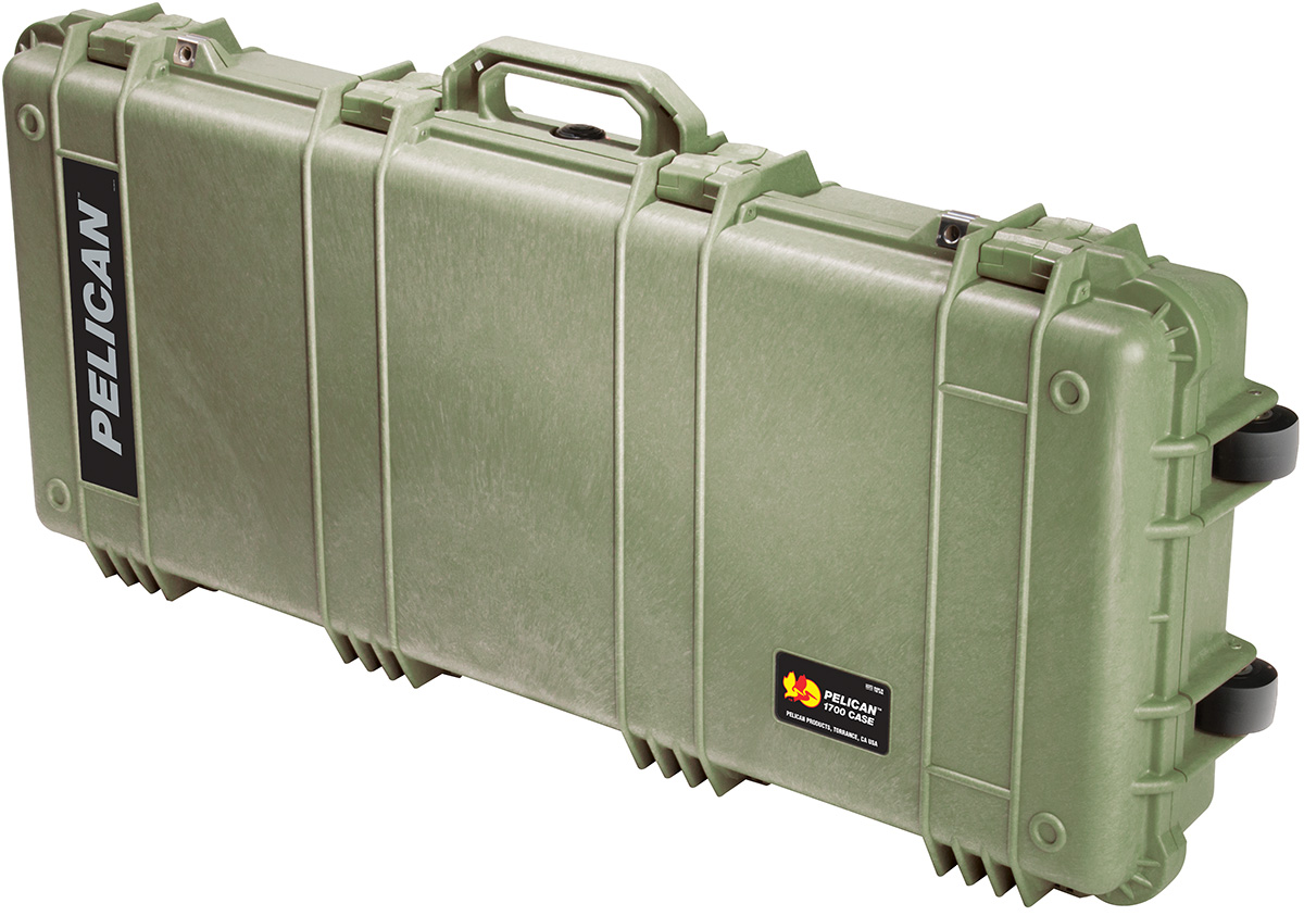 pelican peli products 1700 military rifle gun long case