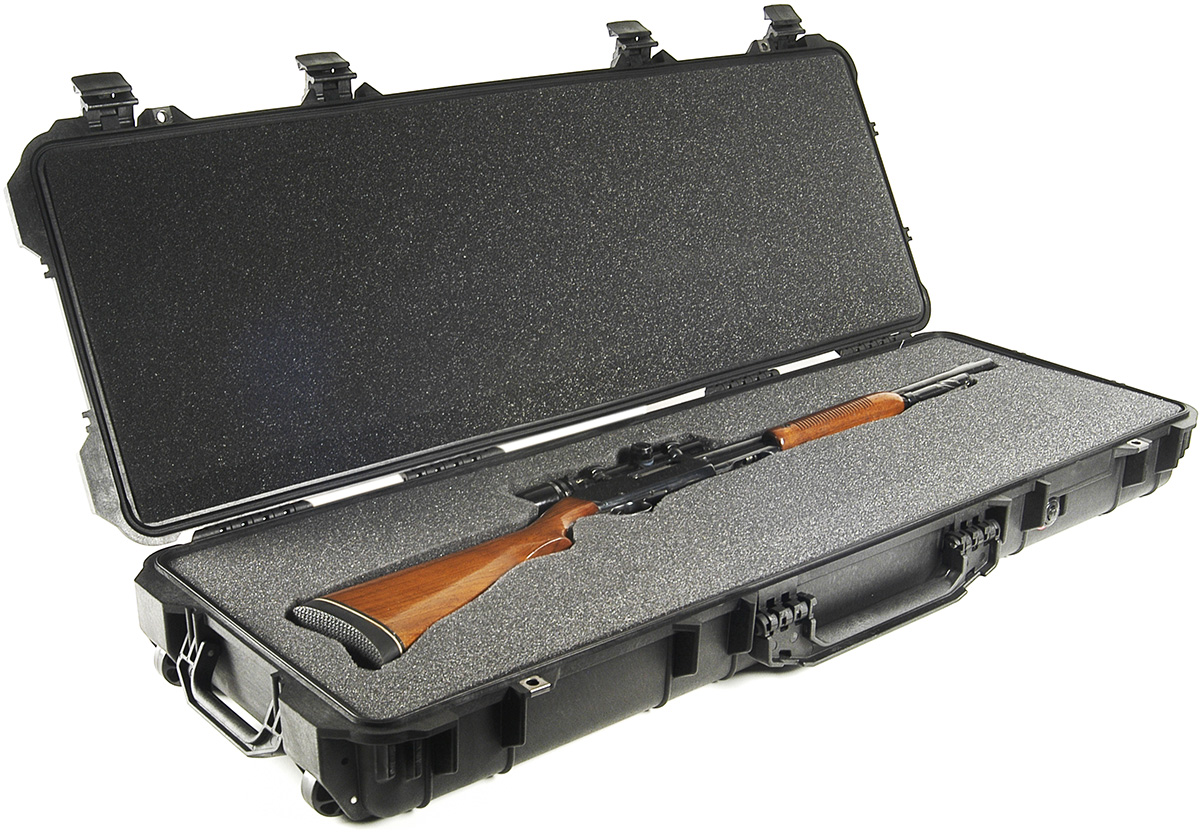 pelican hunting rifle hard watertight case