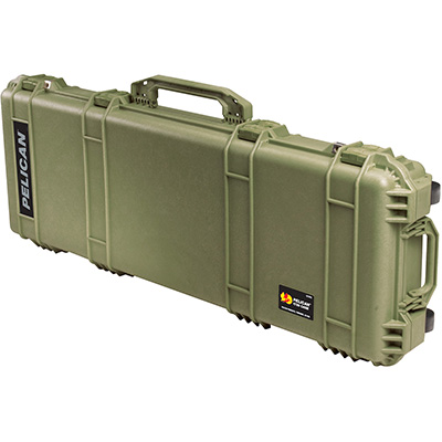 pelican 1720 us military green rifle ar15 card case