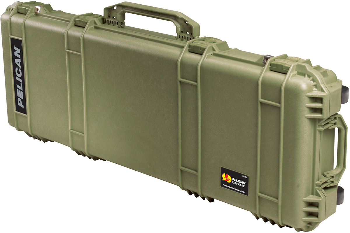pelican us military green rifle ar15 card case