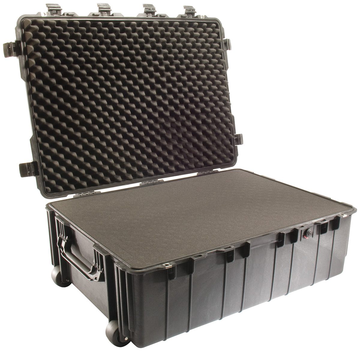 pelican peli products 1730 hard military rolling transport case