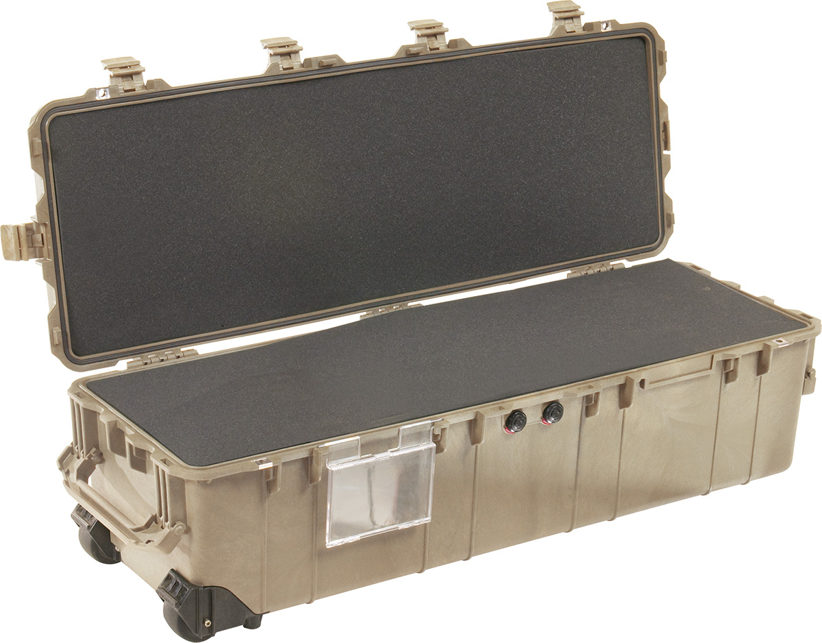 pelican 1740 foam weapon military case