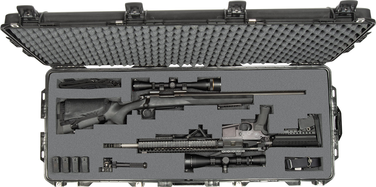 pelican rifle case gun cases 1745 long