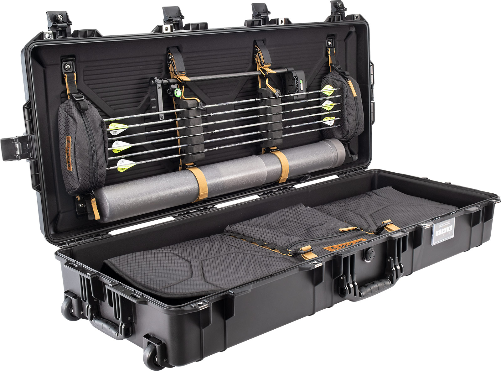 pelican 1745bow air 1745 lightweight bow case