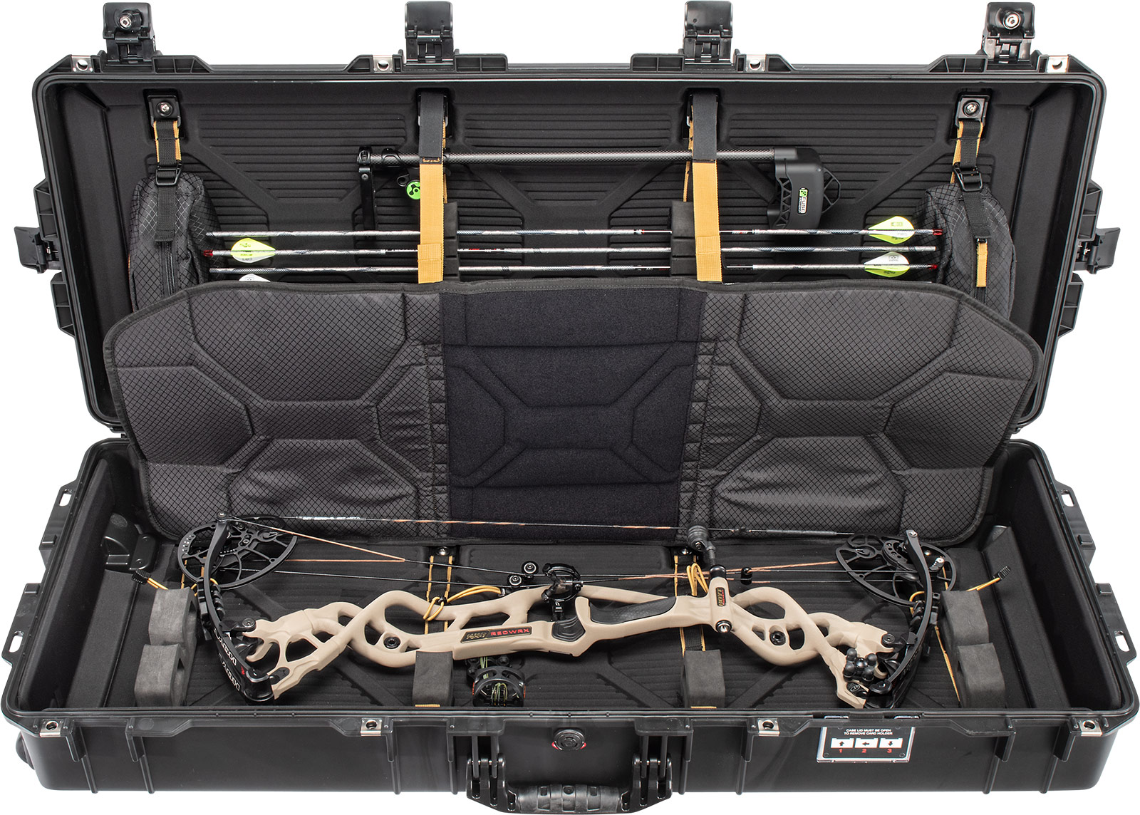 pelican 1745bow air archery case