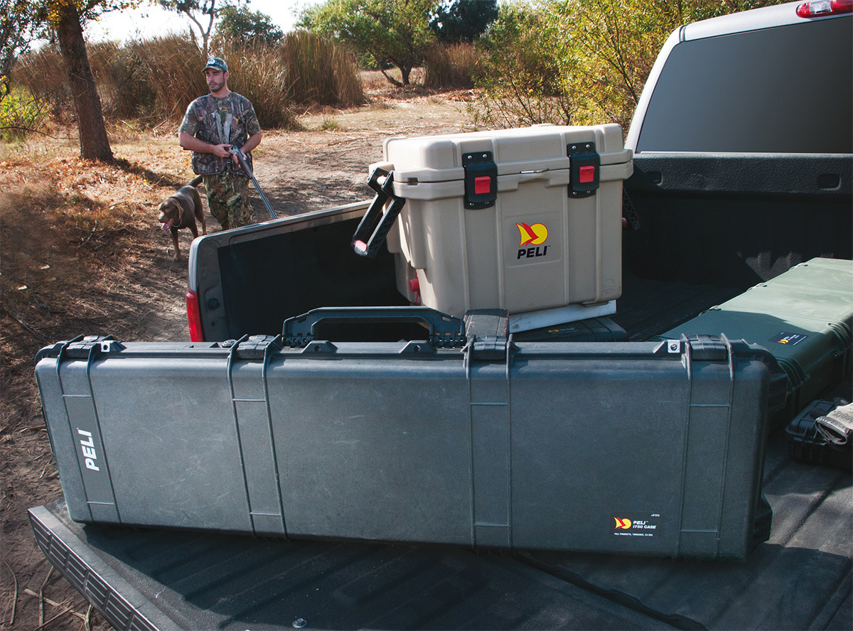 pelican 1750 long rifle hunting gun case pelicase