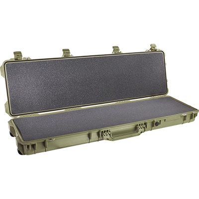 pelican 1750 foam green case