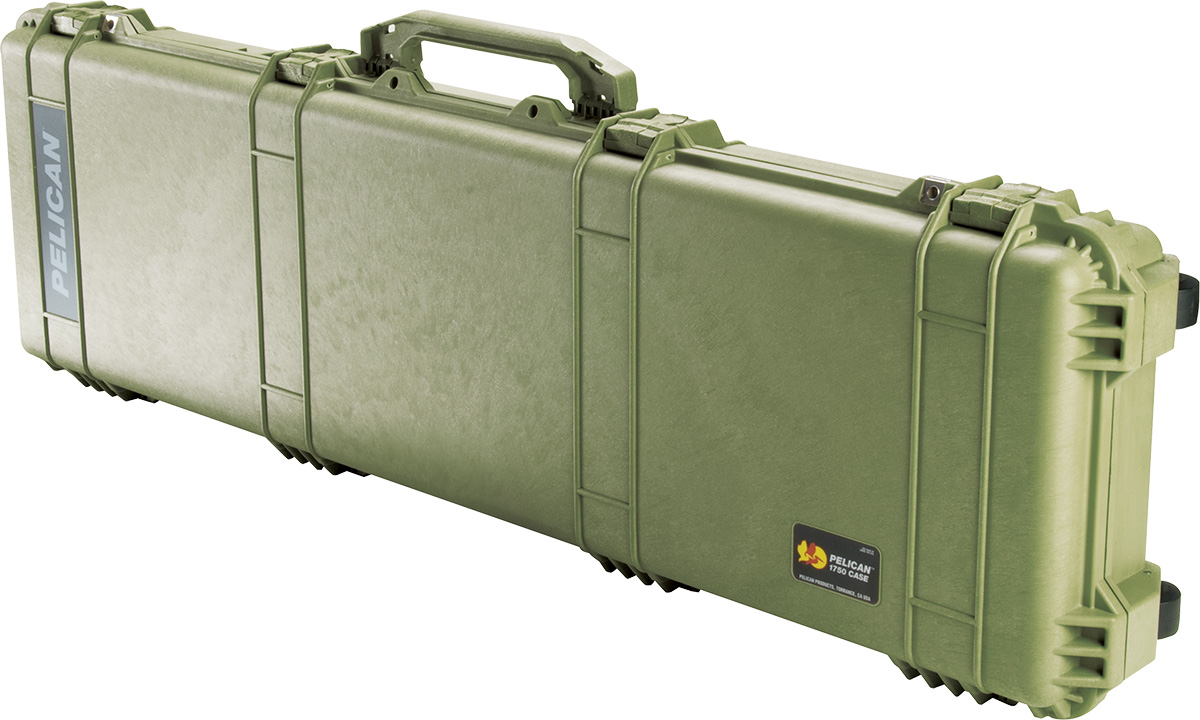 pelican 1750 green long case