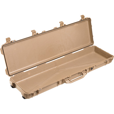 pelican 1750 tan shotgun case
