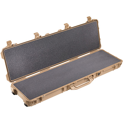 pelican long watertight rifle gun hard case