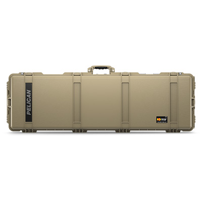 pelican 1770 tan rolling military rifle case