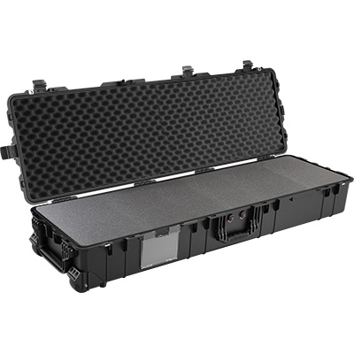 pelican hard rolling gun rifle military case
