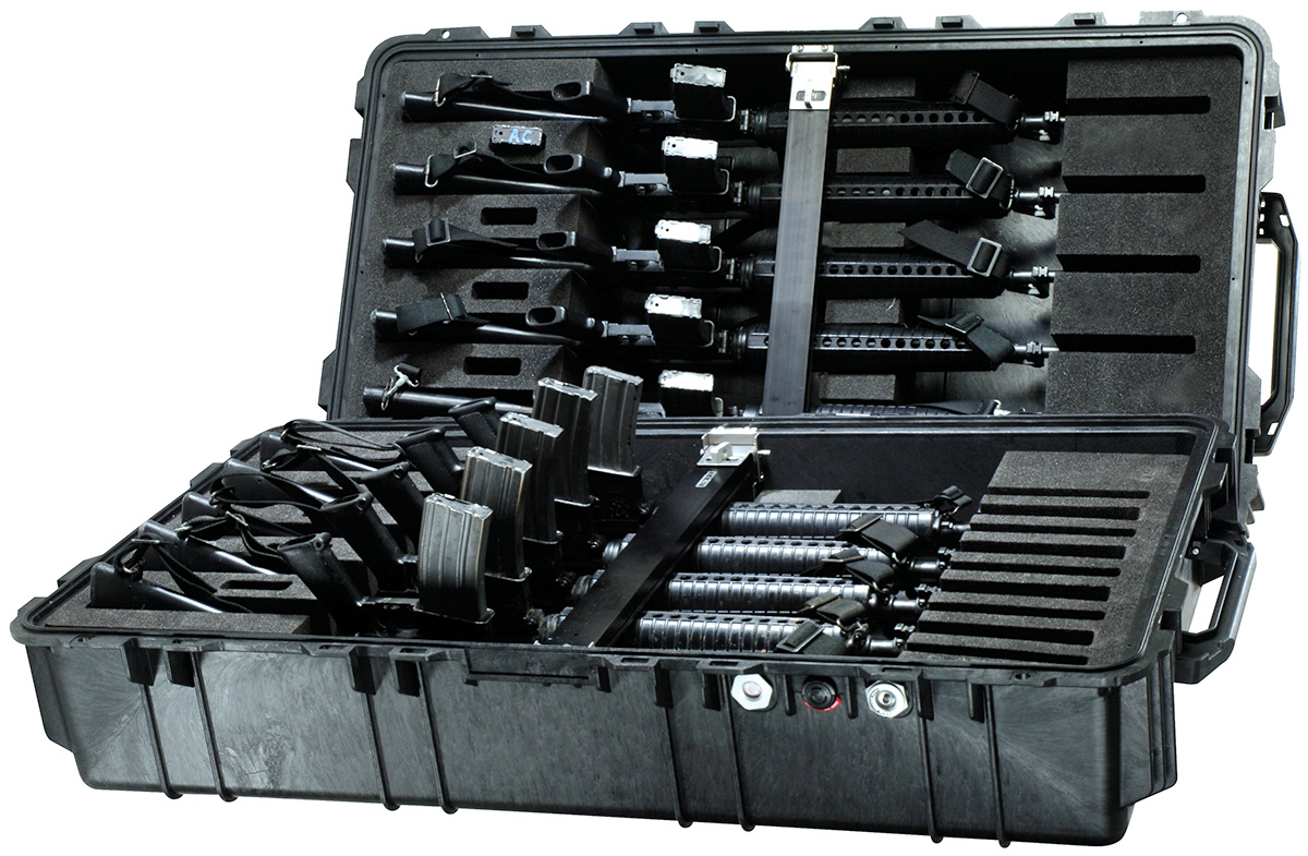 pelican 1780hl rifle m16 ar15 military transport case