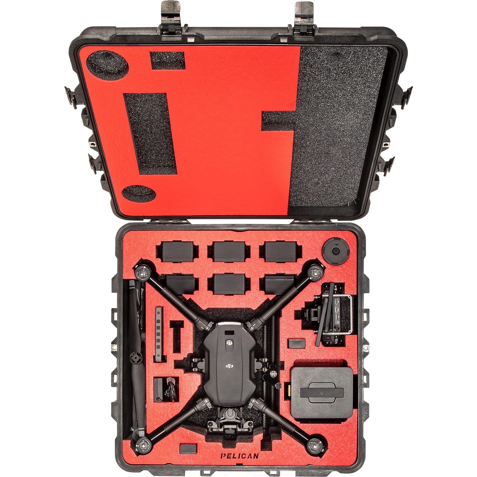 pelican matrice 200 custom foam drone case
