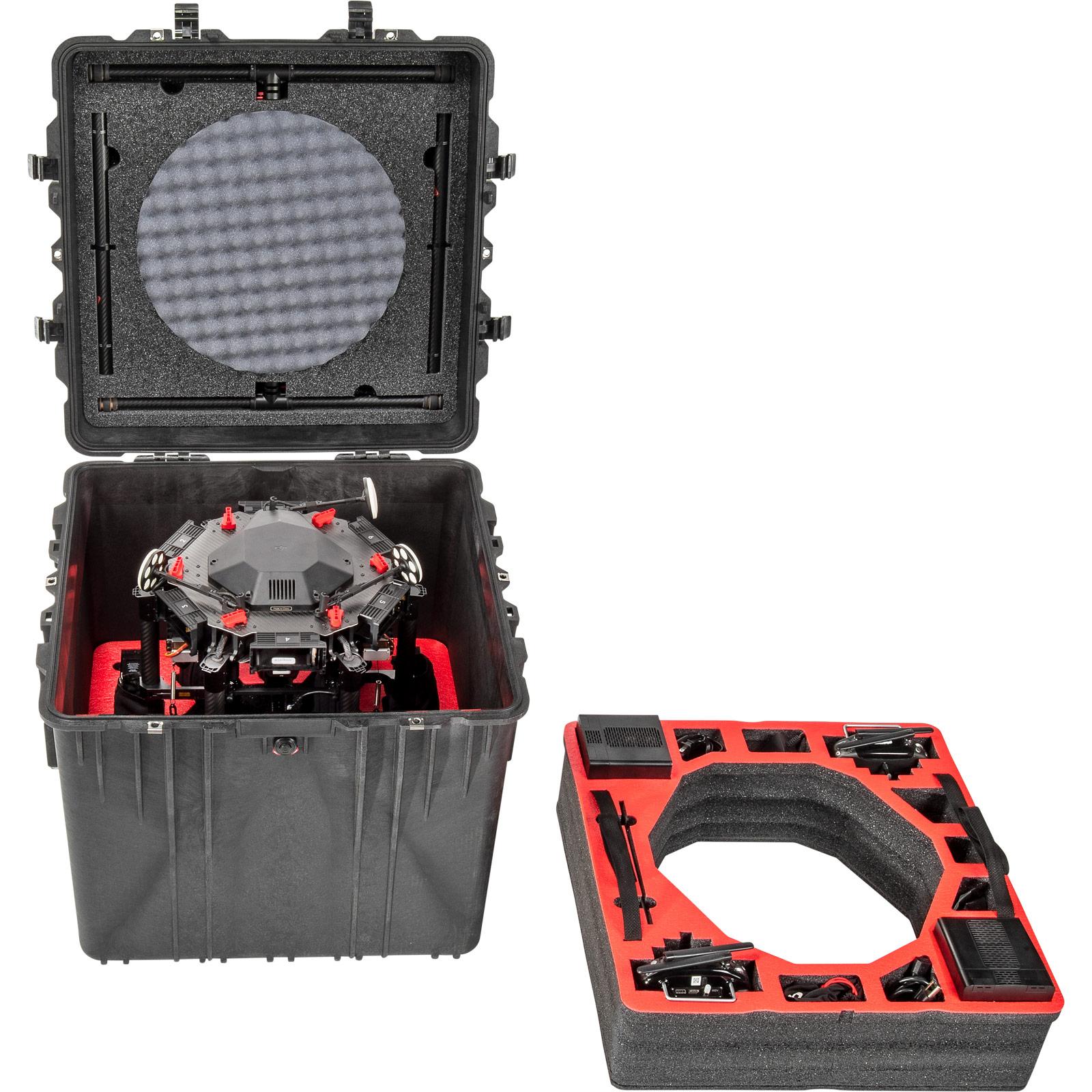 pelican dji matrice 600 custom foam drone case