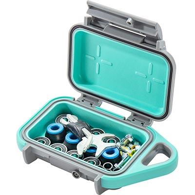 pelican teal hardware screw g10 go case
