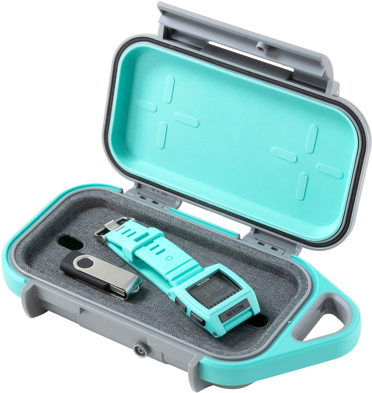 pelican g40 teal smart watch usb cable case