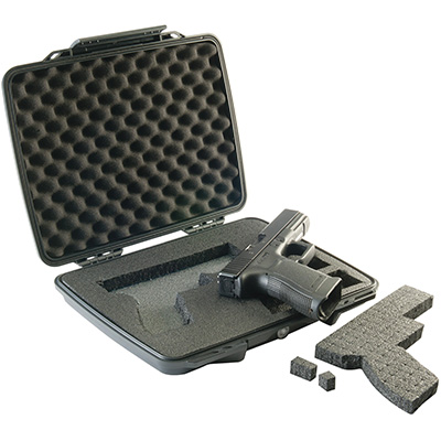 pelican usa made pistol gun hard case