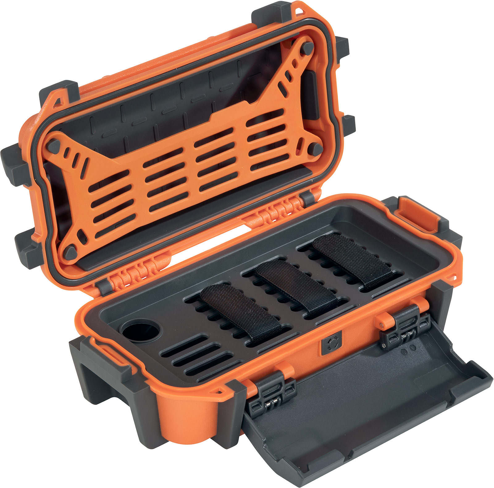pelican r20 ruck ip68 orange case