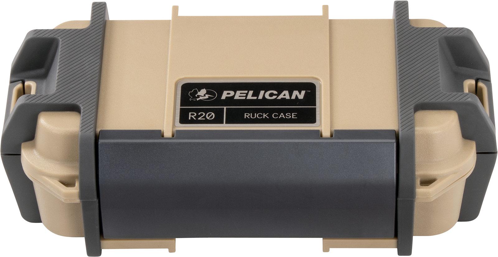 pelican r20 ruck tan electronic case