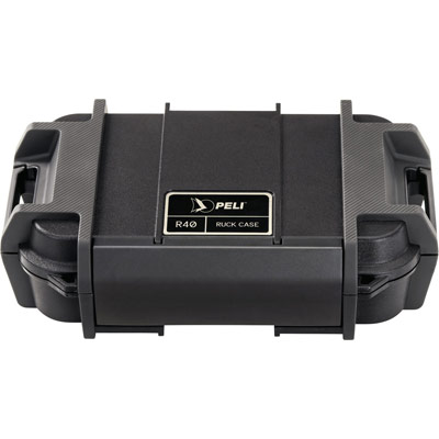 peli r40 ruck ip68 black case