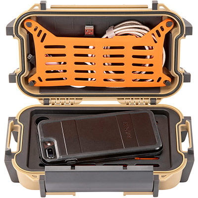 pelican r40 phone cable charger case