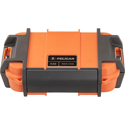pelican r40 ruck ip68 orange case