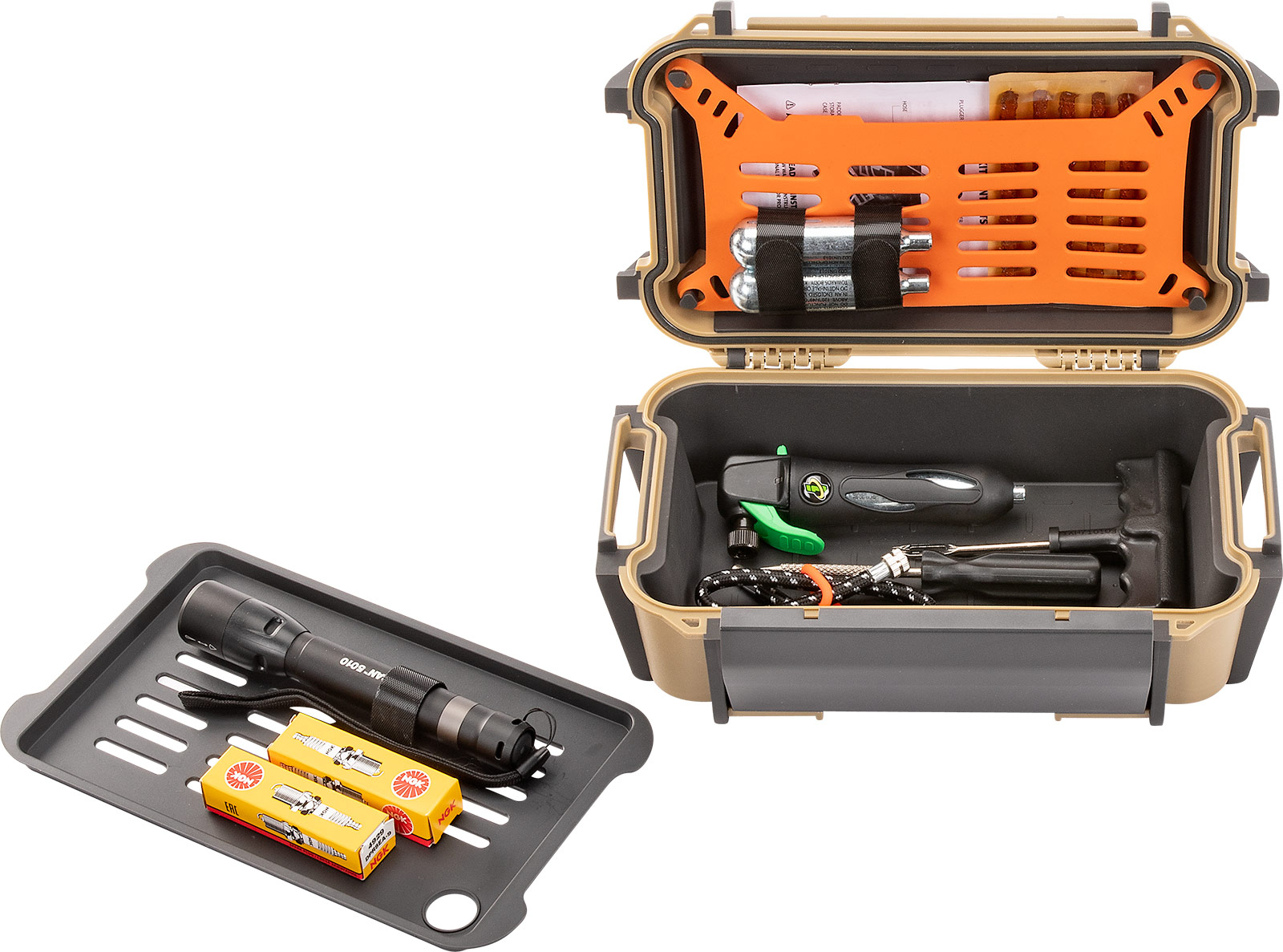 pelican ruck r60 emergency flashlight case