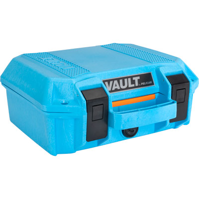pelican vault case color blue equipment cases