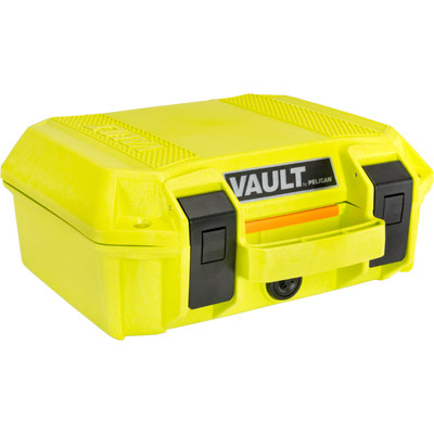 pelican vault series case bright green cases