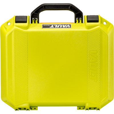 pelican bright green case vault color cases