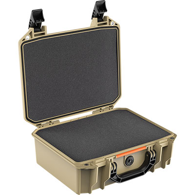 pelican v200c vault cases tan hard case