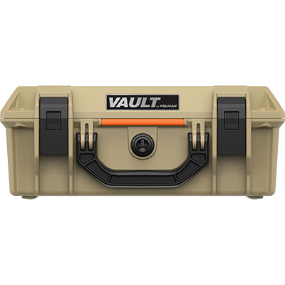 pelican vault hard cases v200 tan case