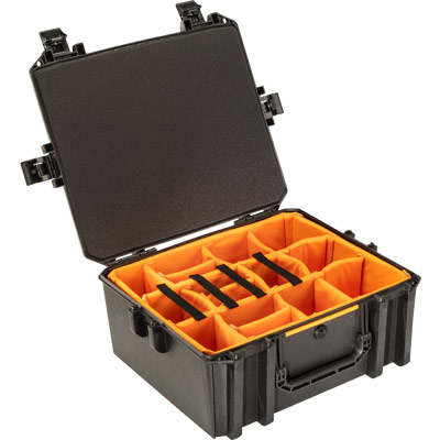 pelican vault v600 photo camera divider case