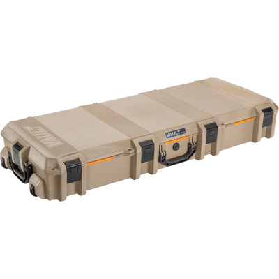 pelican vault v730 tan ar15 rifle case