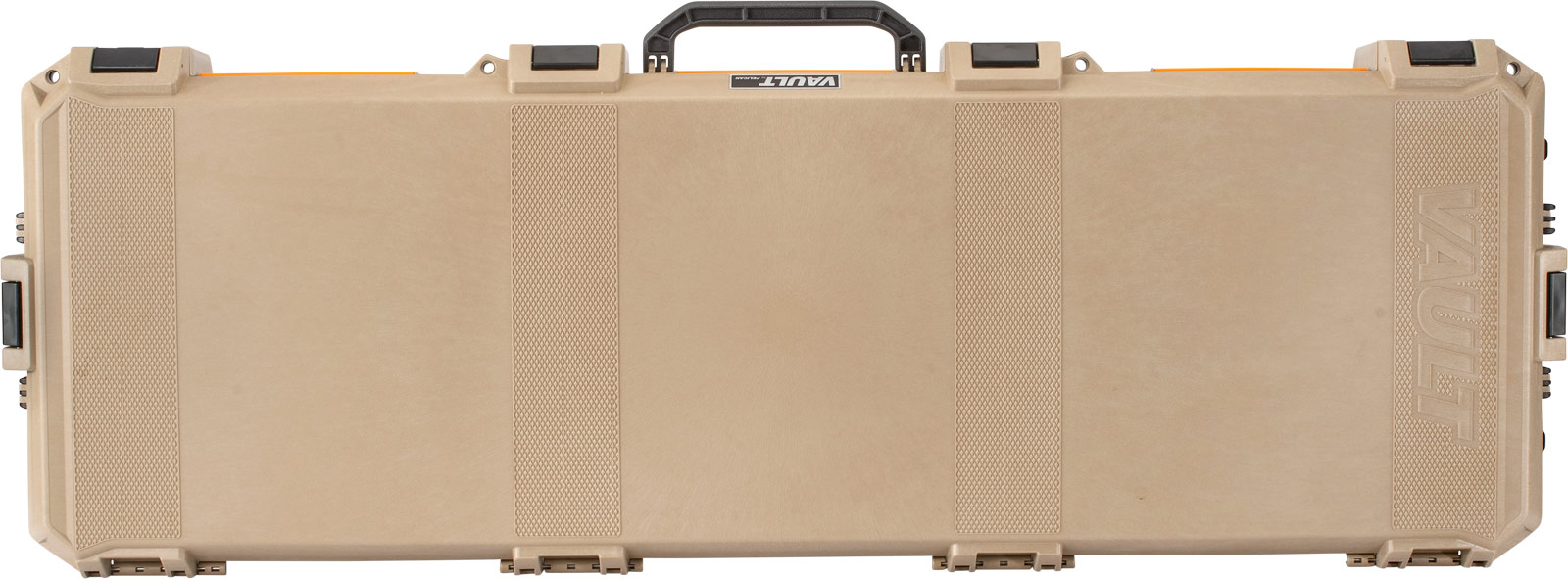 pelican vault v800 tan double firearm case