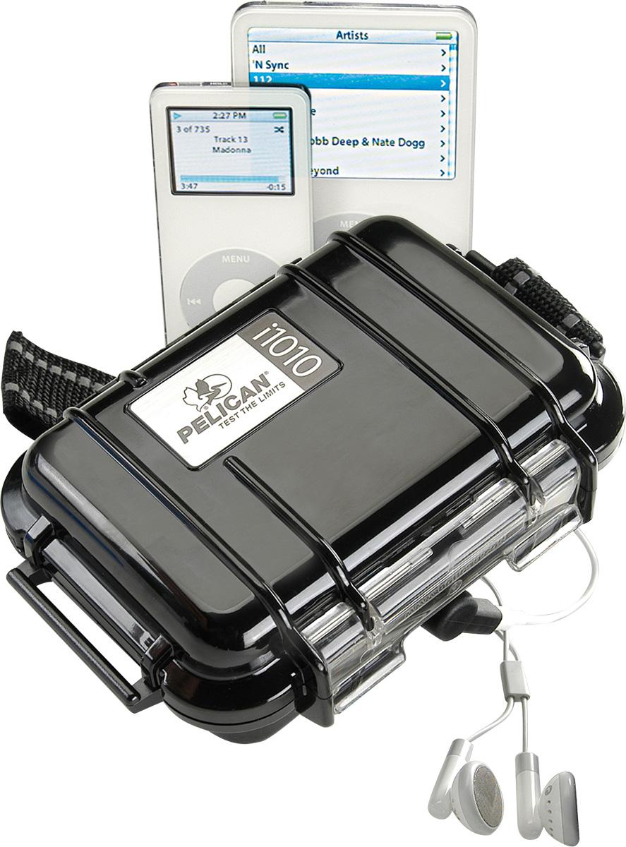 pelican i1010 protective black ipod case