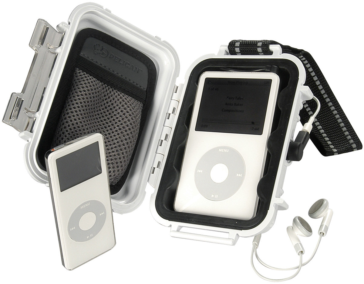 pelican i1010 protective ipod watertight case