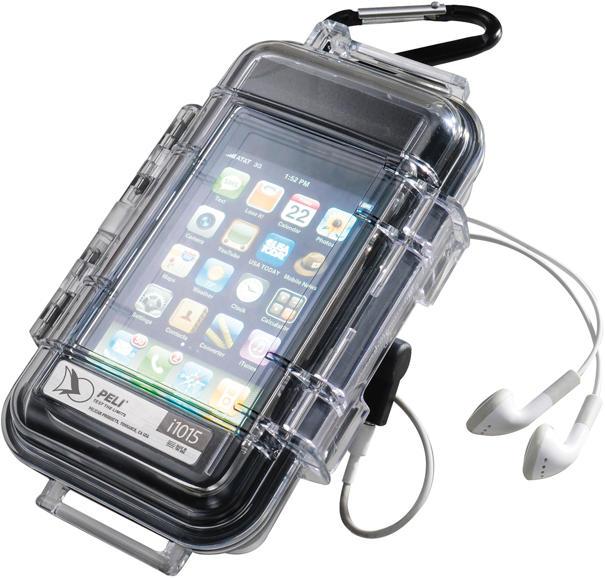 pelican i1015 apple iphone 4 4s waterproof case