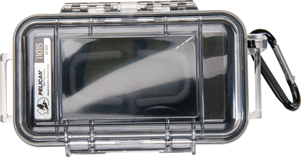 pelican i1015 clear micro watertight case