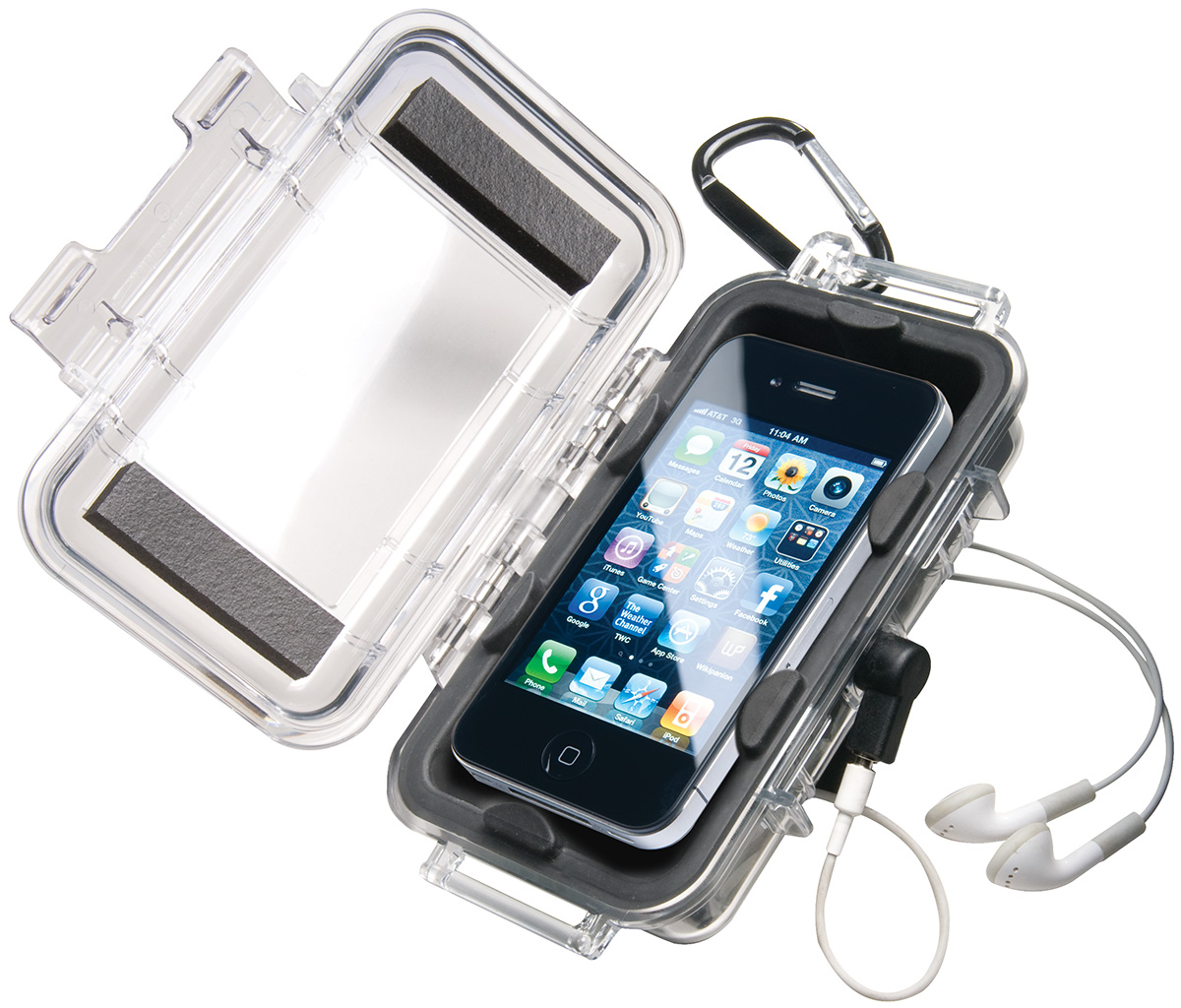 pelican i1015 watertight iphone protection hardcase