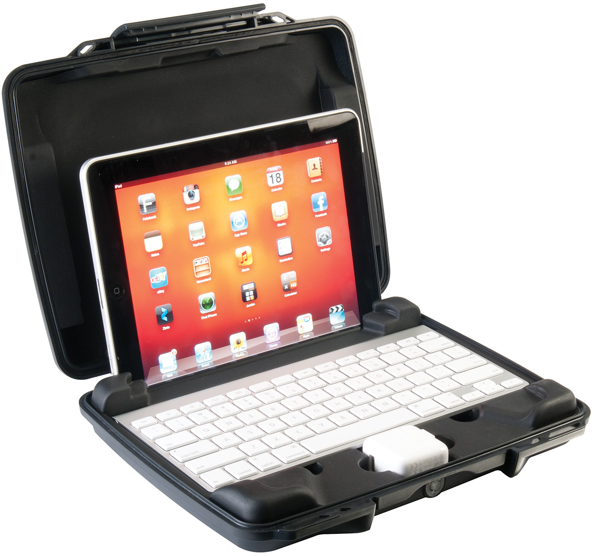 pelican i1075 watertight hard ipad case