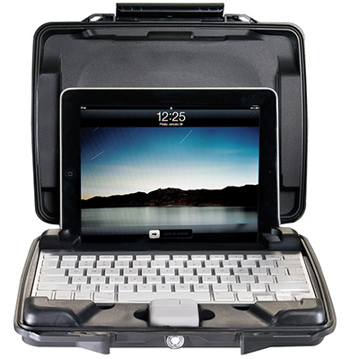pelican i1075 watertight hard shell ipad case