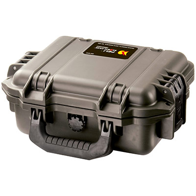 peli watertight rigid electronics case