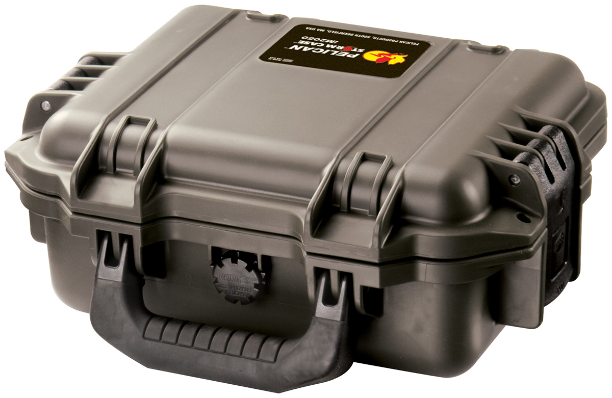 pelican watertight rigid electronics case