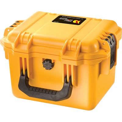 peli yellow storm watertight camera case